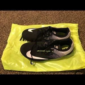 Nike racing  track and field spike shoes